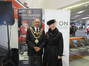 Fiona harrison with The Lord Mayor of Birmingham