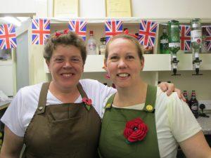 The George Inn Maulden Bar Staff
