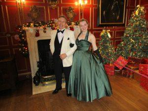 Fiona Harrison at Warwick Castle