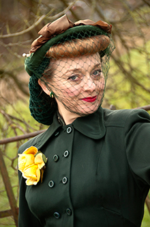 Fiona Harrison 1940s Glamour
