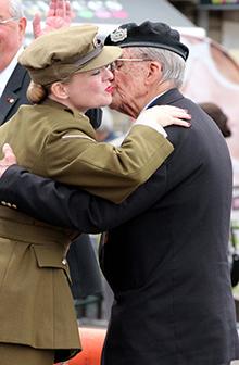 Fiona Harrison - Normandy Veteran Len Cox
