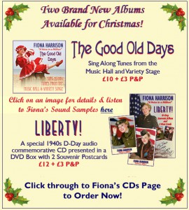 Fiona Harrison Christmas Albums Available now!