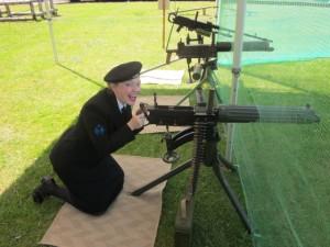 Me Shooting the Hun WW1 style