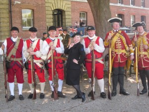 Me with the New France Old England Show Re-enactment!