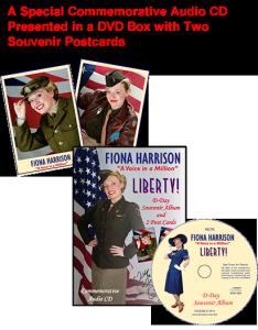 Fiona Harrison - Liberty CD