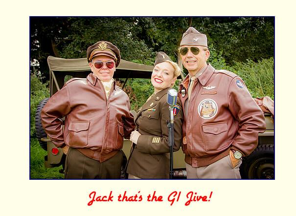 Fiona Harrison - Jack that's the GI Jive!