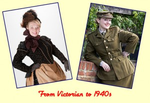 Fiona Harrison - From Victorian to 1940s