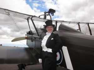 Burlington Bertie and the BE2 Aircraft!