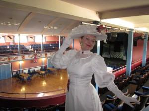 Me at The Pavillion Theatre!