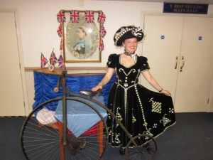 Me with a Penny Farthing!