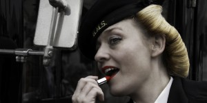 Me at Chatham's Salute to the 40s!