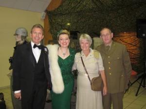 Paul Sandra, Jim and Me!