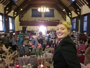 Me singing at Waddesden Village Hall!