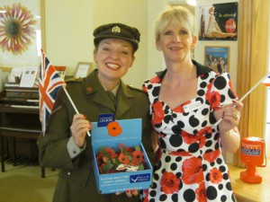 Wear Your Poppy with Pride! Me at Lent Rise!