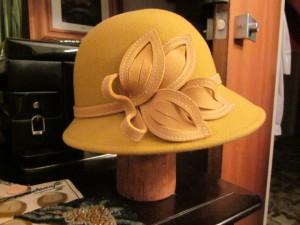 My New Cloch Hat