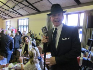 Paul doing his Sinatra Thing!