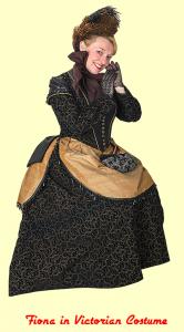 Fiona in Victorian Costume