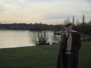 Me Out and About at Furzton Lake