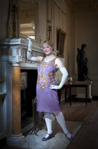 Doing the Gatsby Look at Earsham Hall!