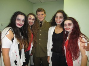 Thriller Make-up Meets the 40s!