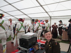 Behind the Scenes with the Morris Men at Abingdon Air Show
