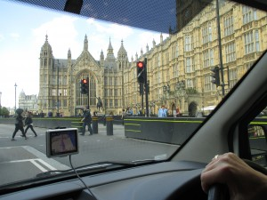 Driving in London!