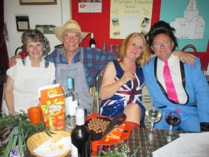 Meet Harry Bellafonte & Odette, Cliff Richard and Ginger Spice!