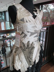 A Costume made from Evening Gloves!