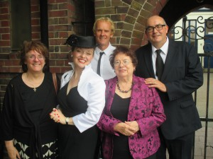Gillian, Peter, Graham, My Mother and I