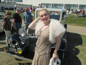 Between Sets at Bexhill's Roaring 20s Event!