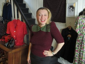 Blitz Knitz - One of Anne's 1940s Jumpers!
