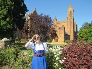 Out and About at Quarr Abbey!