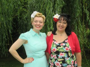 Christine and I at Pensthorpe Park!