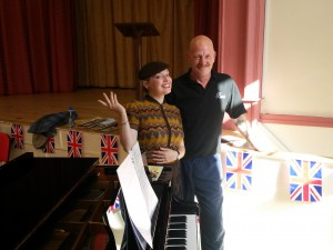 Terry and I the Piano Man!