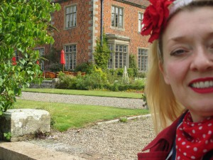 Me at Willington Hall!