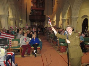 Land of Hope and Glory at St Mary's!