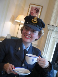 Tea at the RAF Club!