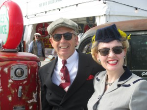 Paul and I Out and About at Goodwood!