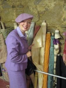 Shopping for Fabrics at Wayward's