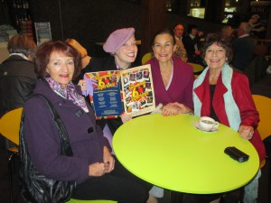Chris, Lynda, Betty and I at The Waterside Theatre!