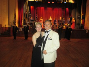 Paul and I at The Poppy Ball!