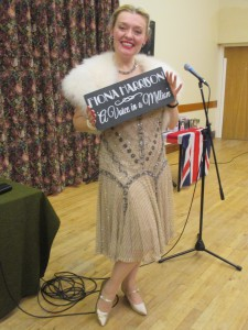 Singing the 20s and 30s for Ravenstone WI