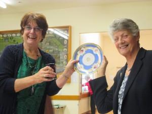 WI Ladies Julie Boardman and Gill Paton