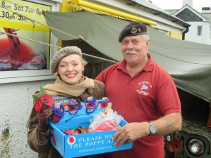 Collecting  For The RBL Joe and I in Pitstone!