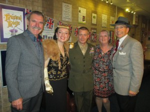 Brian, Me, Paul Murry, Viv and Paul Marsden!