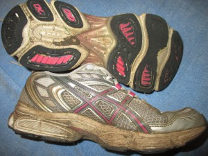 Oh Dear! Poor Old Shoes!