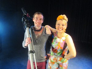 Fiona Harrison with David Pustansky