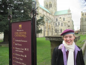 Fiona Harrison in Chichester