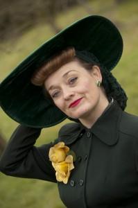 Fiona harrison in her Easter Bonnet