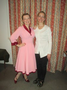 Fiona Harrison and Joanne Cook